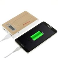 FEIYU Dual USB Batteri Charger Power Bank - Guldfarve