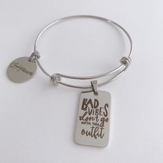 Handmade Accessories, Stainless Steel Bracelet, Charmed, Personalized Items, Silver, Stylish, Box, Bracelets, Products