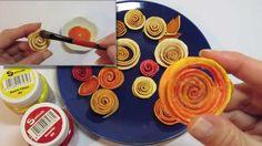 Tutorial: Flores con Cascara de Naranja