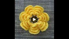 Crochet Flowers Easy How to Crochet a Flower Pattern Crochet Flower Tutorial, Crochet Flower Patterns, Crochet Motif, Crochet Designs, Crochet Flowers, Embroidery Patterns, Flower Embroidery, Crochet Phone Cases, Diy Crafts Crochet