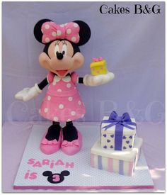 3D Minnie Mouse cake - Cake by cakesbg