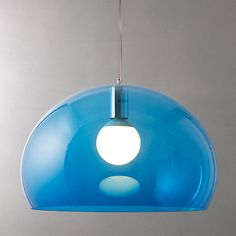Buy Kartell FLY Ceiling Light Online at johnlewis.com £160 H30 x D52 cm, adjustable drop to 223cm
