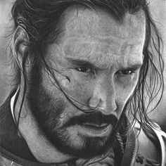 Secrets Of Drawing Most Realistic Pencil Portraits - - hitek. Secrets Of Drawing Realistic Pencil Portraits - Discover The Secrets Of Drawing Realistic Pencil Portraits Portrait Au Crayon, Pencil Portrait, Realistic Pencil Drawings, Easy Drawings, Very Easy Drawing, 47 Ronin, Draw On Photos, Portraits, Keanu Reeves