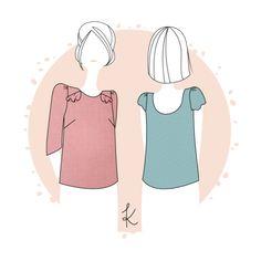 Anne Kerdiles Couture - blouse Milan - patron PDF : 8€