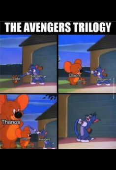 Tom and Jerry Memes that are too hilarious to miss. Updated daily, for more funny memes check our homepage. Marvel Jokes, Funny Marvel Memes, Dc Memes, Marvel Dc Comics, Marvel Heroes, Funny Comics, Funny Memes, Hilarious, Thanos Marvel