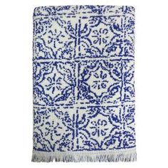 Threshold™ Bath Towel - Tile Blue : Target