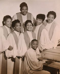 Dorothy Love Coates & The Original Gospel Harmonettes.  Formed in 1940, group members were Mildred Madison Miller, Odessa Glasgow Edwards, Vera Conner Kolls, Willie M. Brooks Newberry and their composer was Evelyn Starks.
