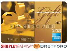 Our weekly giveaway for this week is sponsored by Bretford! They are generously giving away a $100 American Express Gift Card to one winner! Cool right?! Brought to you by Shoplet.com - everything for your business. #Giveaway