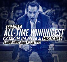 3/17/18 Basketball Season, Basketball Coach, Football And Basketball, Grayson Allen, Coach K, Duke Blue Devils, Home Team, College Life, Boys Who