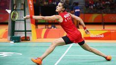 Carolina Marin - Spain Badminton Olympic Champion https://www.olympic.org/news/carolina-marin-the-yog-athlete-who-became-olympic-badminton-champion #badminton #olympics