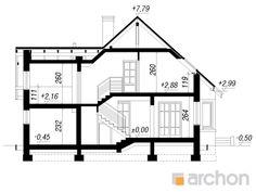 Дом в тамарисках - Проект ARCHON+ Floor Plans, Floor Plan Drawing, House Floor Plans