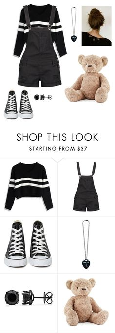 """Untitled #240"" by kissoragunfight ❤ liked on Polyvore featuring Chicwish, Boohoo, Converse and Jellycat"