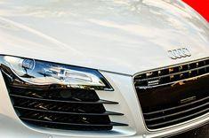 2008 Audi Hood Emblem - Car Images by Jill Reger