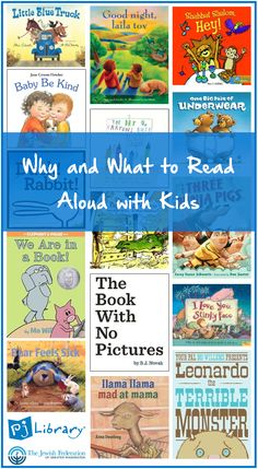 15 great read-alouds and tips to make storytime more enjoyable for you and your child.  From PJ Library in Greater Washington and The Jewish Federation of Greater Washington