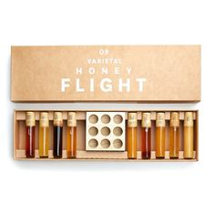 20,9 Varietal Honey Flight