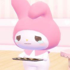 My Melody Sanrio, Hello Kitty My Melody, Sanrio Hello Kitty, Hello Kitty Characters, Sanrio Characters, Whatsapp Png, Cute Cartoon Pictures, Dibujos Cute, Cute Memes