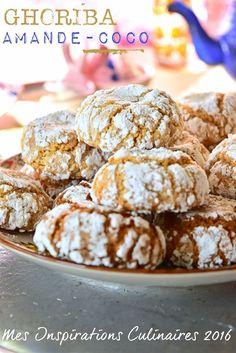 recette ghoriba amande coco Choumicha