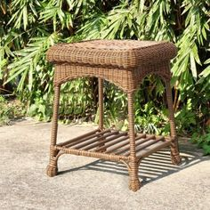 Jeco Wicker Patio End Table in Honey <3 Clicking on the VISIT button will lead you to find similar swimwear