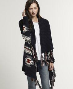 Superdry Navajo Tassel vest - Knitwear voor Dames