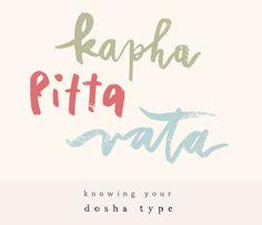 knowing your dosha type | watercolor brush, KARMOMO