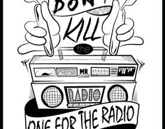 """Check out new work on my @Behance portfolio: """"One for the radio"""" http://on.be.net/1FGjNGH"""