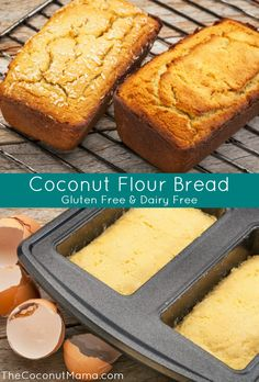 Coconut Flour Bread Recipe – The Coconut Mama