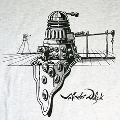 The Return of Salvador Dalek  He just keeps on coming back, this version of Salvador Dalek | TheRevSteve's Flickr