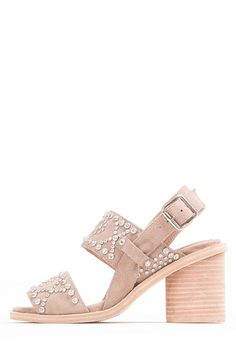 Jeffrey Campbell Shoes PREVEZA Shop All in Taupe Suede Silver