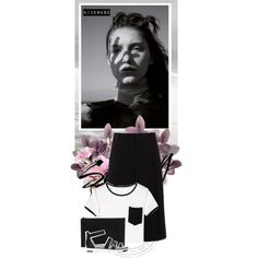 Saturday in black & white by nicerose on Polyvore featuring Mode, Diane Von Furstenberg and Alexander Wang