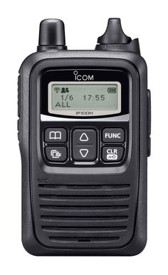 The IP100H had a built-in antenna so it can be used even without the external antenna in a wireless network. #icom