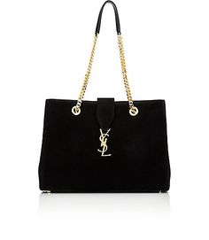We Adore: The Monogram Tote from Saint Laurent at Barneys New York