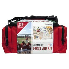 Medic First Aid Kit- 208 Piece First Aid Kit- FAMILY STOREHOUSE - Detailed description of content on our websiite