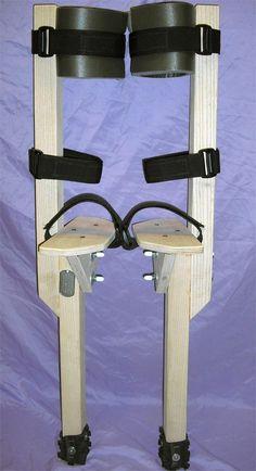 1.5' Peg Stilts made by Kricket from PegStilts.com