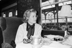 Princess Grace of Monaco — European Express Train on Sept. 10, 1977.