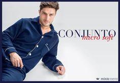 MIXTE MEN'S. Também para os dias mais frios! #pijamasmasculinos #mixte