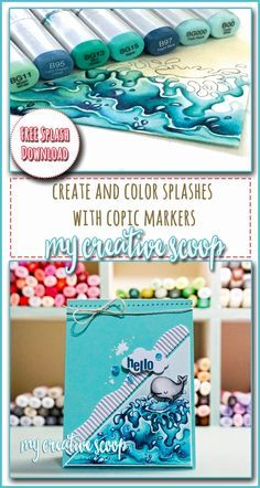 Create and Color Splashes + FREE Splash Printable!