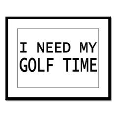 For the golfer addict
