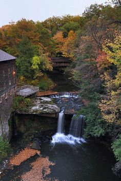 Mill Creek Park in Canfield, Ohio has over 4,400 acres of diverse landscape.