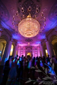 Anna and Spencer Photography, Wedding Reception at the Atlanta Biltmore Ballrooms.