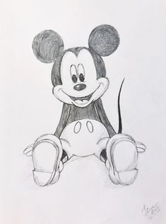 mickey mouse easy disney drawing characters cartoon pencil drawings sketch fun sketches simple doodle mechanical views4yu drawinglexiejournal ru