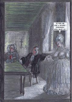Seite 23 - Die fromme Marianne kommt sich bei dem Vorschlag des Abtes wie ein Hure vor.