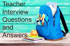 Competency-Based Interview Questions for Teachers