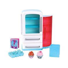 Shopkins - Chef Club Playset - Nice n' Icy Fridge Shopkins Chef Club, Shopkins Season 6, Kids Living Rooms, Crochet Baby Toys, Birthday Wishlist, 10th Birthday, Wooden Dolls, Shopping, Sons