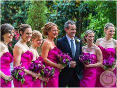 A fabulously fuchsia wedding http://www.florafetish.com