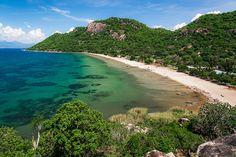 Lake Malawi. Malawi.