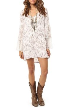 O'Neil 'Panama' Shift Dress available at #Nordstrom