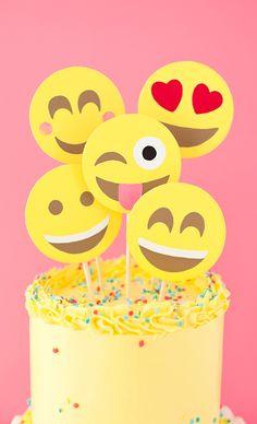 Emoji Party Cake