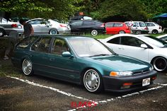 Honda Accord | Lowered, Slammed, USDM Tuner Cars, Jdm Cars, Honda Accord Wagon, Honda S, Honda Auto, Car Station, Toyota Corolla, Custom Cars, Cars And Motorcycles