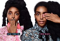 Quann Sisters: Cipriana and TK Quann Showcasing the Latest Beauty Trends while Discussing Diversifying The Beauty/Fashion Industry in the May Issue of Cosmopolitan Magazine