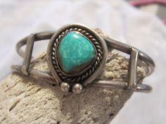 Vintage Turquoise Jewelry Native American by edanebeadwork on Etsy, $69.00